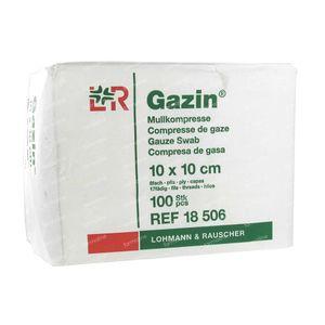 Gazin Gaaskompres 10 x 10cm 18506 100 stuks