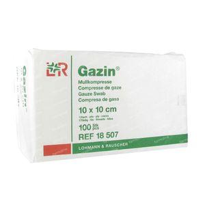Gazin Compresse di Garza 10 x 10cm 18507 100 pezzi