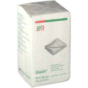 Gazin Gaaskompres 10 x 10cm 18507 100 stuks
