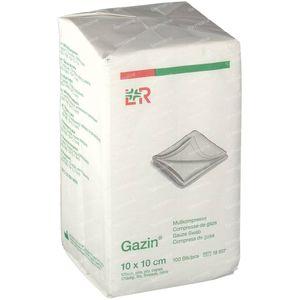 Gazin Compresse de Gaze 10 x 10cm 18507 100 pièces