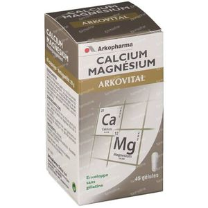 Arkocaps Arkovital Ca-Mg 45 capsules