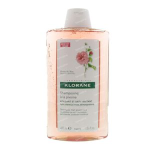 Klorane Verzachtende Shampoo Met Chinese Pioenroos 400 ml