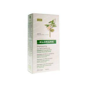 Klorane Volumeshampoo Met Amandelmelk 400 ml