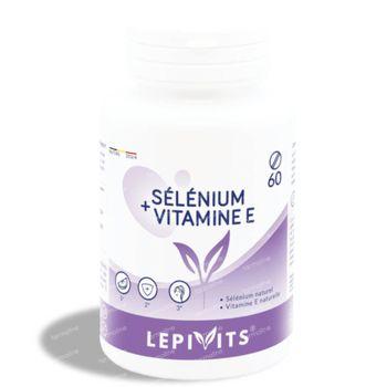 Lepivits Selenium + Vit E 60 tabletten