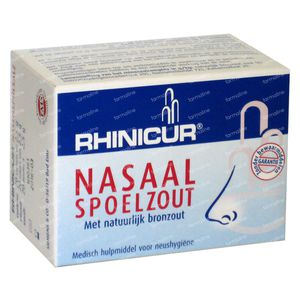 Rhinicur Nasal Rinse Salt 20x2.5 g bolsitas