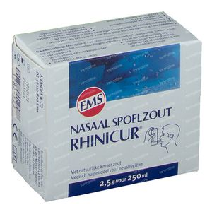 Rhinicur Nasal Rinse Salt 20x2.5 g bags