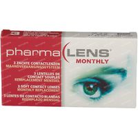 PharmaLens Monatslinsen (Dioptrie -0.75) 3  kontaktlinsen