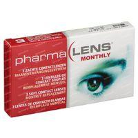 PharmaLens Monatslinsen (Dioptrie -1.00) 3  kontaktlinsen