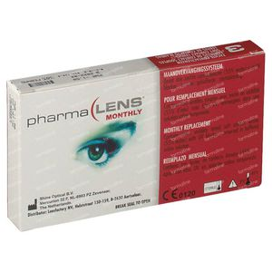 PharmaLens Month Lenses (Dioptre -1.50) 3 lenses