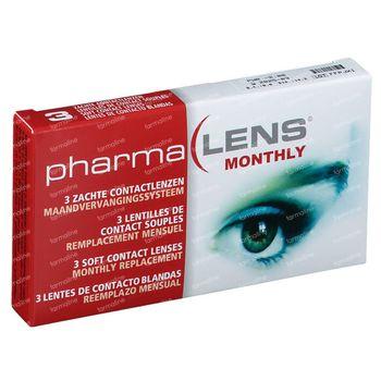 PharmaLens Maandlenzen -2.00 3 lenzen