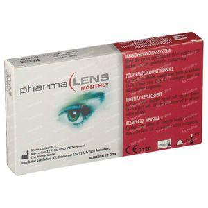 PharmaLens Lentilles (mois) (Dioptrie -3.00) 3 St lentilles