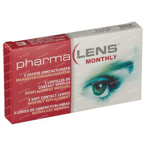 PharmaLens Maandlenzen -3.00 3 lenzen