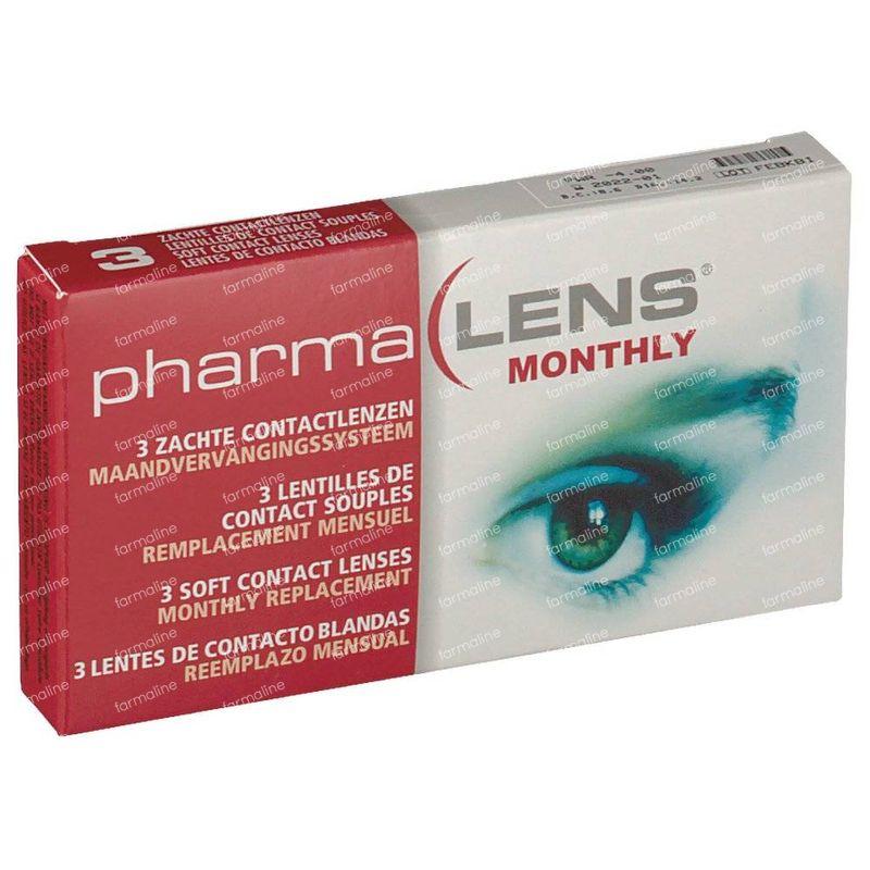 e669175a428735 PharmaLens Lentilles (mois) (Dioptrie -4.00) 3 lentilles commander ...