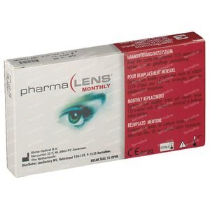 PharmaLens Month Lenses (Dioptre -4.50) 3 lenses