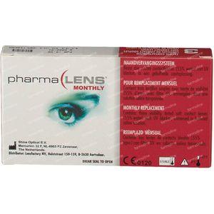 PharmaLens Lentilles (mois) (Dioptrie -4.50) 3 lentilles