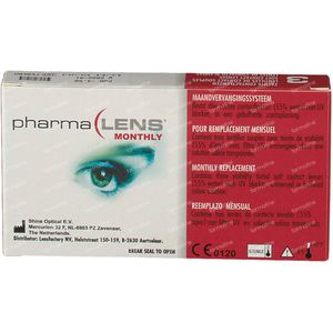 PharmaLens Month Lenses (Dioptre -4.50) 3 lenses