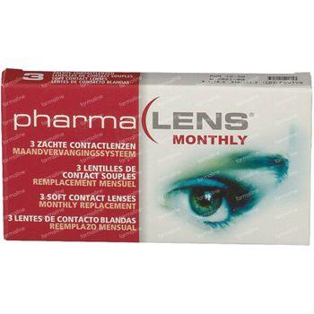 PharmaLens Lentilles (mois) (Dioptrie +2.50) 3 lentilles