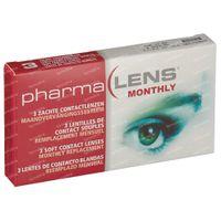 PharmaLens Monatslinsen (Dioptrie +4.00) 3  kontaktlinsen