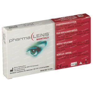 PharmaLens Lentilles (mois) (Dioptrie +4.00) 3 lentilles
