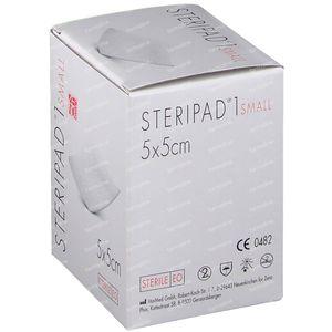 Steripad 1 KP Sterile Small 5cm x 5cm 40 pièces