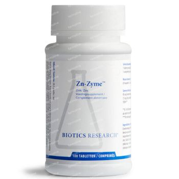 Biotics Zn-Zyme 100 comprimés