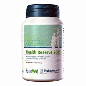 Funciomed Health Reserve 2000 Zonder Fe-Cu 90  tabletten
