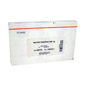 Na-Hyposulfite 1g 50 ml ampoules