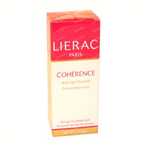 Lierac Coherence Nuit 50 ml tube
