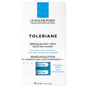 La Roche Posay Toleriane Oogreinigingsampullen 30 stuks