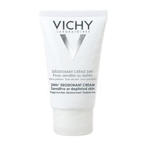 Vichy Anti-Transpiratie Deodorant Crème 24h 40 ml crème