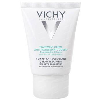 Vichy Traitement Crème  Anti-Transpirant 7 Jours 30 ml