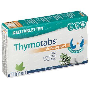 Thymotabs Sinaasappelsmaak 20 zuigtabletten