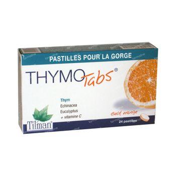 Thymotabs Orange 20 comprimés à sucer