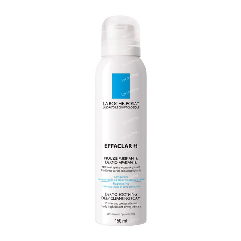 la roche posay effaclar h mousse 150 ml commander ici en ligne. Black Bedroom Furniture Sets. Home Design Ideas