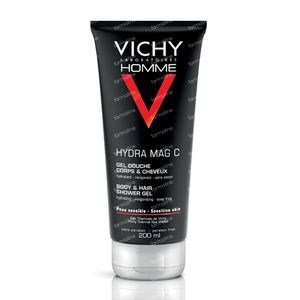 Vichy Homme Hydra Mag C Shower Gel 200 ml