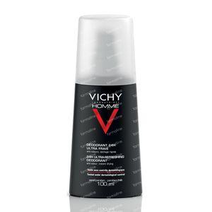 Vichy Homme Deodorant Vaporisateur 24h 100 ml spray