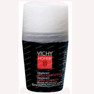 Vichy Homme Deo Intensief Regulerend 50 ml roller