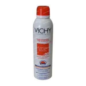 Vichy Capital Soleil Zonnespray Multi-Position Kind UV 30 200 ml