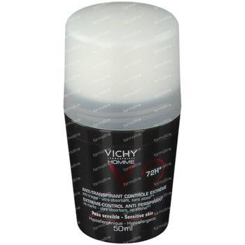 Vichy Homme Deodorant Anti-Transpiratie 72h 50 ml roller