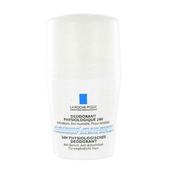 La Roche-Posay Déodorant Physiologique 24h Roll-On 50 ml