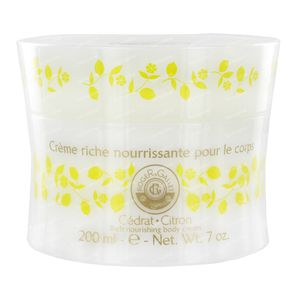 Roger & Gallet Cedrat Crème Pour Le Corps 200 ml crème