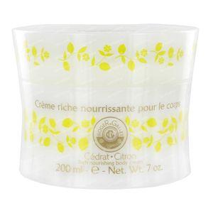 Roger & Gallet Cedrat Lichaamscrème 200 ml crème