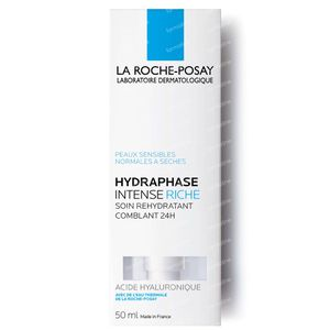 La Roche-Posay Hydraphase Intense Rijk 50 ml