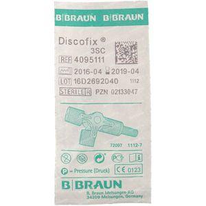 Braun Discofix-3 Meerwegkraan Blauw 1 stuk