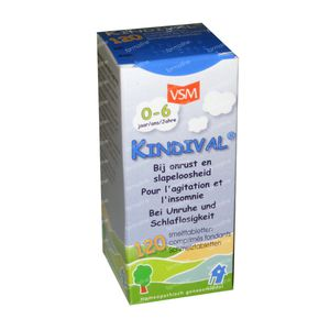 VSM Kindival 100mg 120 St Tabletten