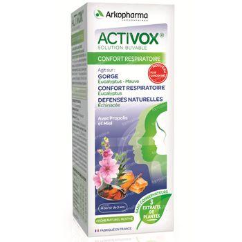 Activox Sirop Confort Respiratoire 150 ml sirop