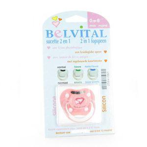 Belvital Fever Teat 0-6 Months 1 pieza
