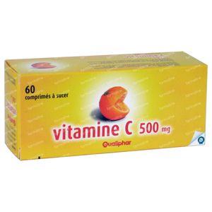 Qualiphar Vitamine C 500mg 60 tabletten