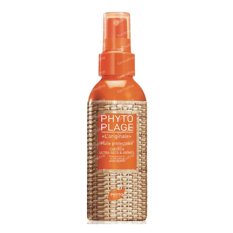 phyto phytoplage huile protectrice cheveux secs 100 ml commander ici en ligne. Black Bedroom Furniture Sets. Home Design Ideas