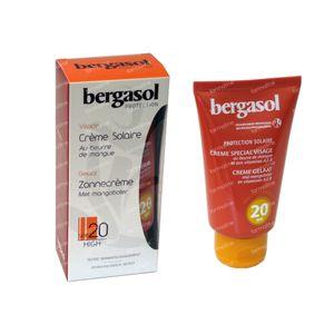 Bergasol Zonnecrème met Mangoboter SPF 20 50 ml